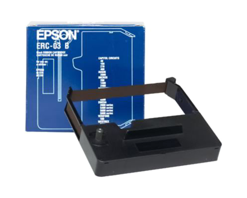 Epson ERC-03B Black Fabric Ribbon Cartridge