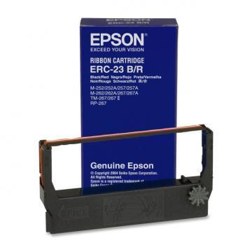 Epson ERC-23BR Black Red Ribbon Cartridge