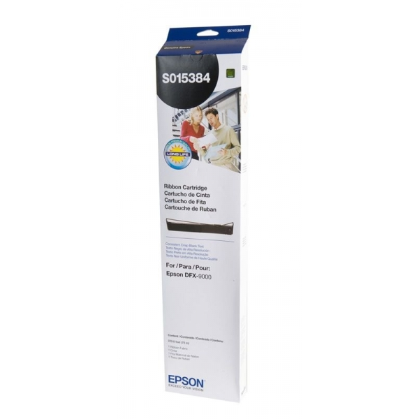 Epson S015384 Black Ribbon Cartridge