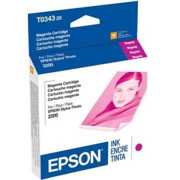 Epson 34 Magenta Ink Cartridge