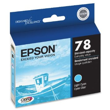 Epson 78 Light Cyan Ink Cartridge