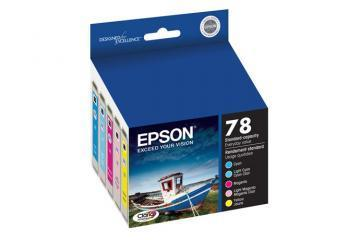 Epson 78 Color C/M/Y/LC/LM Ink Cartridges 5-Pack