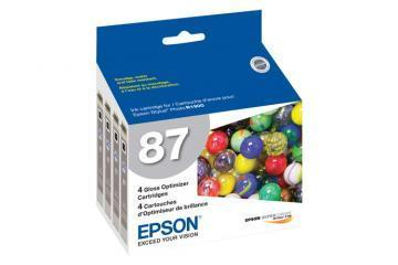 Epson 87 Gloss Optimizer Cartridge 4-Pack