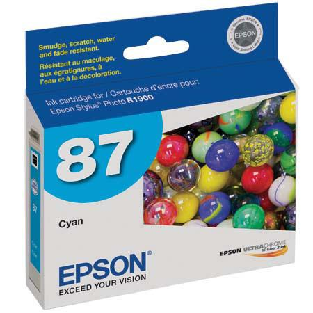 Epson 87 Cyan Ink Cartridge