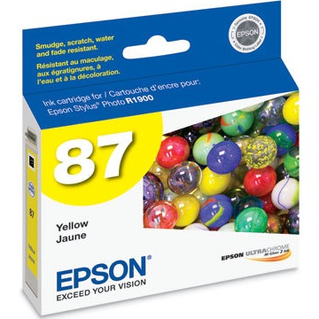 Epson 87 Yellow Ink Cartridge