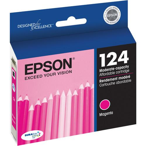 Epson 124 Magenta Ink Cartridge