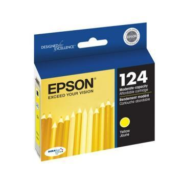 Epson 124 Yellow Ink Cartridge