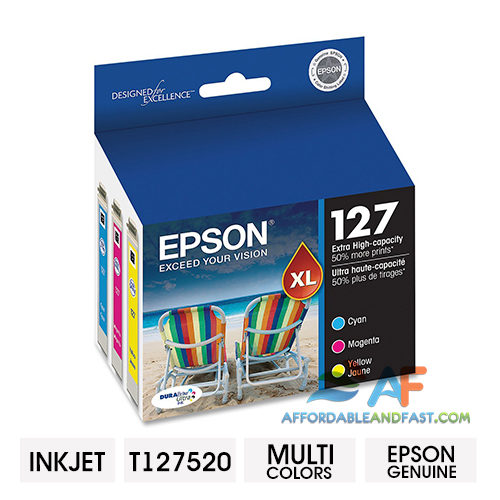 Epson 127 Color C/M/Y Ink Cartridge