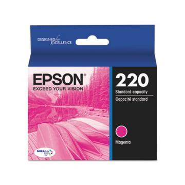 Epson DURABrite Ultra 220 Magenta Ink Cartridge