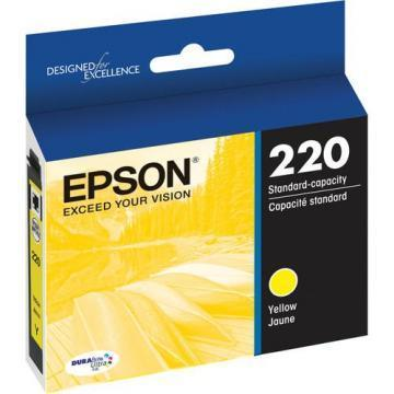 Epson DURABrite Ultra 220 Yellow Ink Cartridge