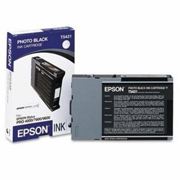 Epson 543 Photo Black Ultrachrome Ink Cartridge