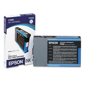 Epson 543 Cyan Ultrachrome Ink Cartridge