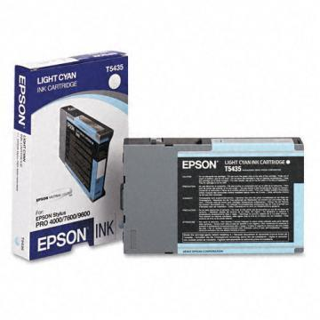 Epson 543 Light Cyan Ultrachrome Ink Cartridge