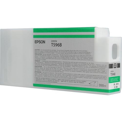 Epson T596B00 Ultrachrome HDR Ink Cartridge: Green