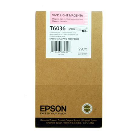 Epson UltraChrome K3 Vivid Light Magenta Ink Cartridge