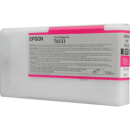 Epson T653300 Vivid Magenta Ink Cartridge