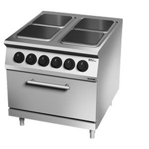 Giga EM Line 7 EM74CEE Electric boiling unit with 1/1 static electric oven