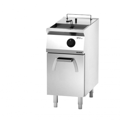 Giga EM Line 7 EM72FRE Electric fryer on cabinet with door
