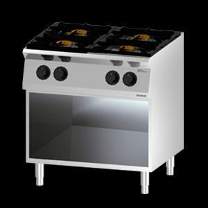 Giga EM Line 7 EM74PCH Gas boiling unit on open cabinet