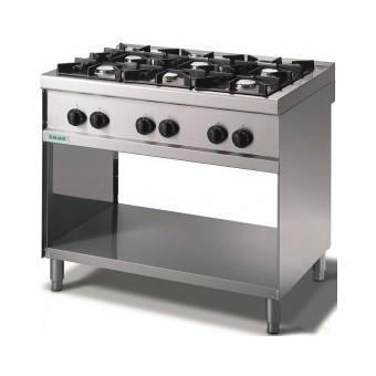 Giga Emme 7 M76FMP Gas boiling unit on open cabinet