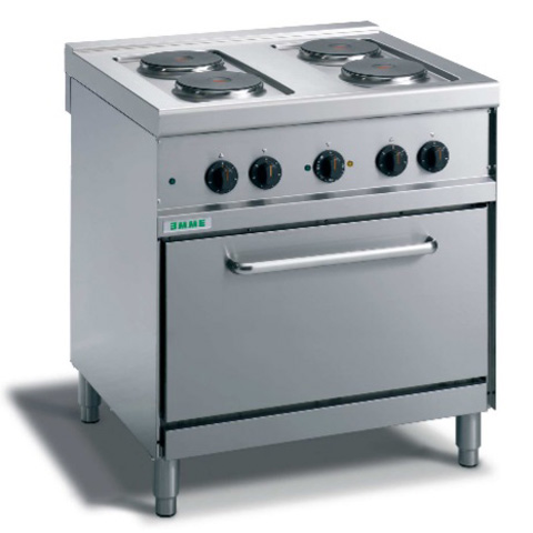 Giga Emme 7 M74FPFXE Gas boiling unit on 1/1 convection electric oven