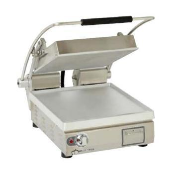 "Star Heavy Duty 14""x14"" Smooth Aluminium Sandwich Grill"