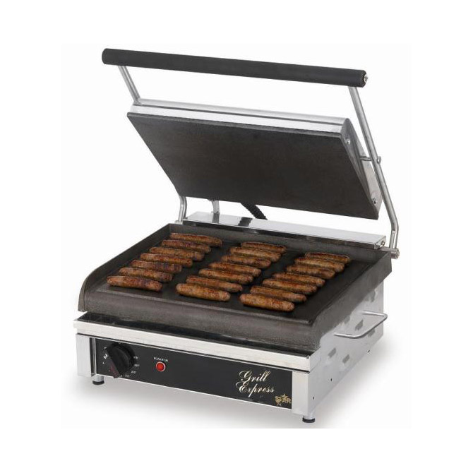 "Star Grill Express 10""x10"" Smooth Iron, 1400W"