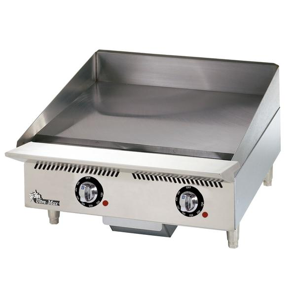 "Star Ultra-Max 24"" Snap Action , 1"" Plate Griddle"