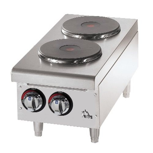 Star 2-Burner Solid Top Hotplate