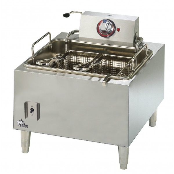 Star 15lb Single Pot, Twin Basket Fryer