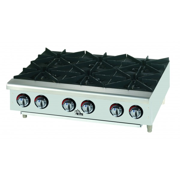 Star Star-Max 6-Burner Gas Hotplate