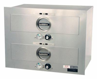 Star Toastmaster 3B20AT09 2-Drawer Warmer