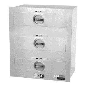 Star Toastmaster 3C80AT72 3-Drawer Warmer