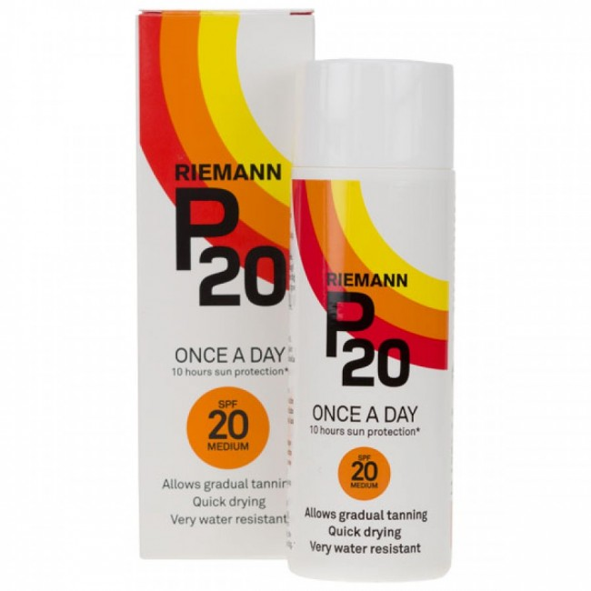 Riemann P20 SPF 20 100ml sun protection lotion