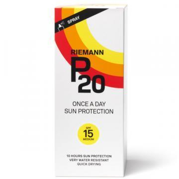 Riemann P20 SPF 15 200ml sun protection spray