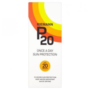 Riemann P20 SPF 20 200ml sun protection lotion