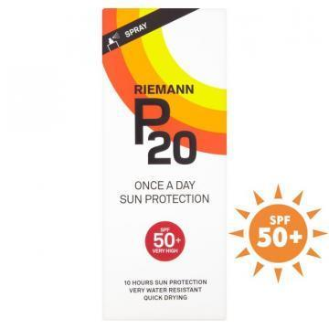Riemann P20 SPF 50+ 200ml sun protection spray