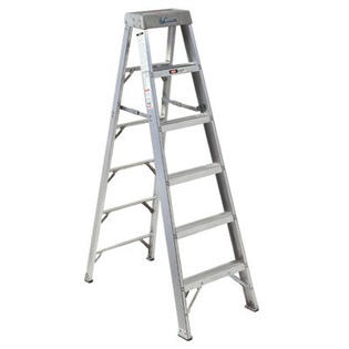 Louisville Type IA 8 ft Aluminum Standard Step Ladder
