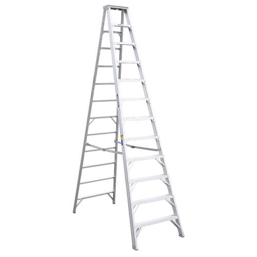 Louisville Type IA 12 ft Aluminum Standard Step Ladder