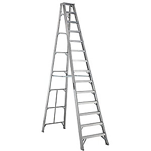 Louisville Type IA 14 ft Aluminum Standard Step Ladder