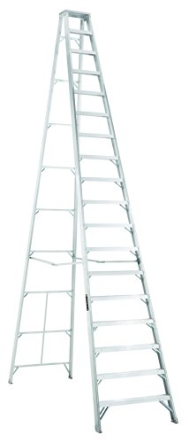 Louisville Type IA 18 ft Aluminum Standard Step Ladder