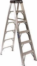 Louisville Type IAA 6 ft Aluminum Standard Step Ladder