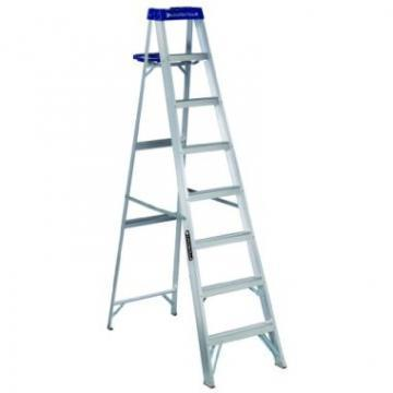 Louisville Type I 8 ft Aluminum Standard Step Ladder