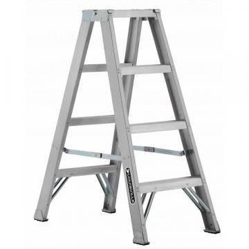 Louisville Type IA 4 ft Aluminum Twin Front Step Ladder
