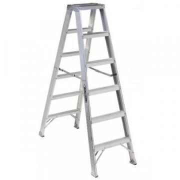 Louisville Type IA 6 ft Aluminum Twin Front Step Ladder