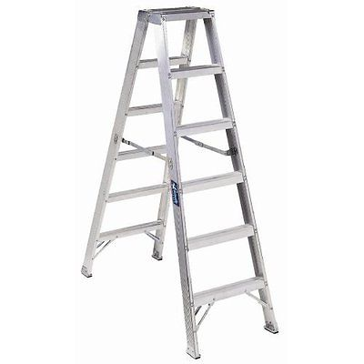 Louisville Type IA 12 ft Aluminum Twin Front Step Ladder