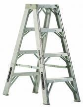 Louisville Type IAA 4 ft Aluminum Twin Front Step Ladder