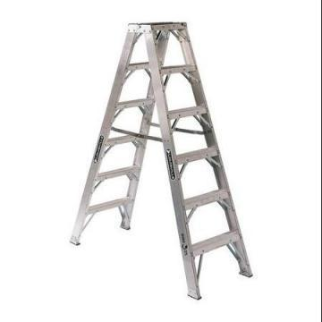 Louisville Type IAA 6 ft Aluminum Twin Front Step Ladder