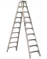 Louisville Type IAA 10 ft Aluminum Twin Front Step Ladder