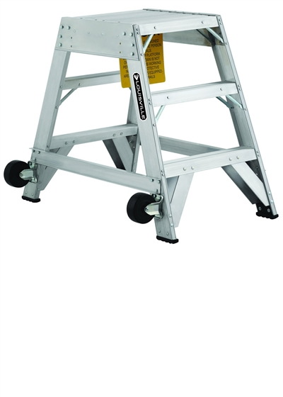 Louisville Type IA 3 ft Aluminum Platform Step Ladder